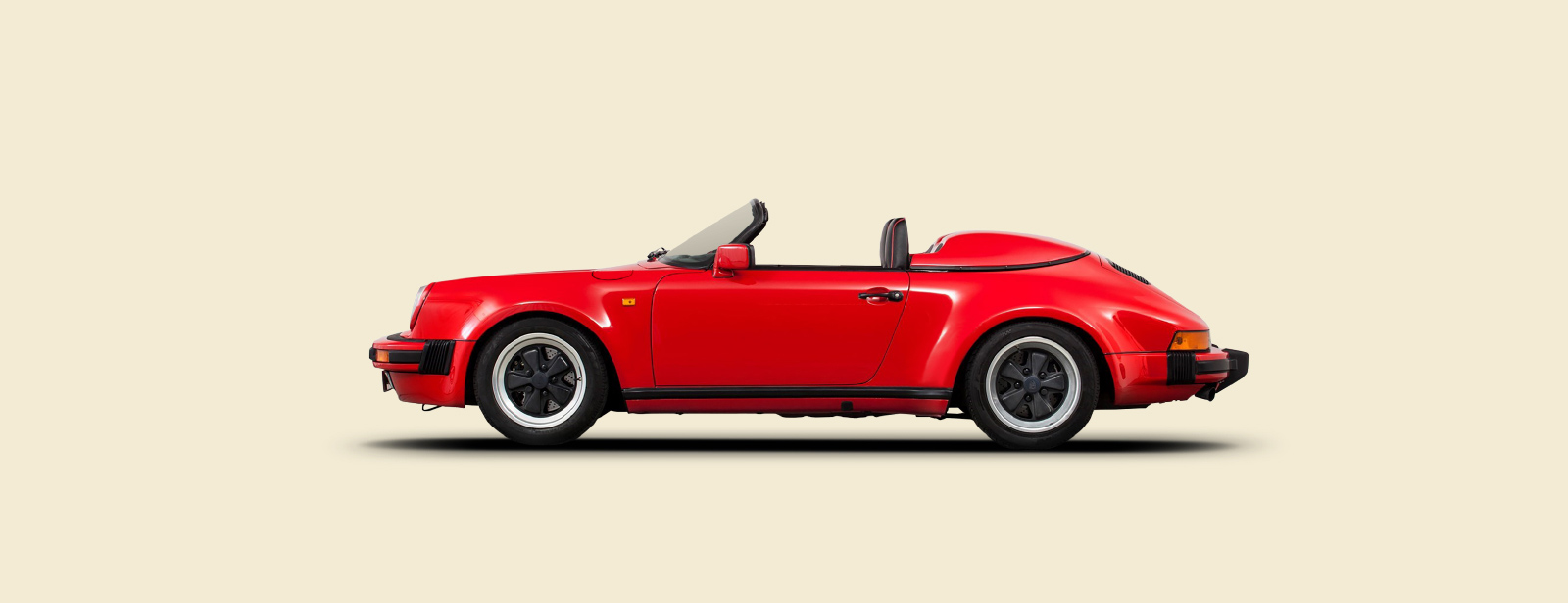 Porsche 911/G Narrow Body Speedster. - 1988/1989